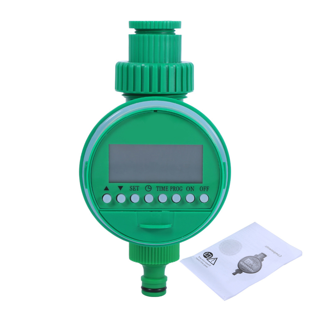 Automatic Intelligent Electronic LCD Display Wtering Timer Home Garden Irrigation Timer Controller System Irrigation Timer(China)