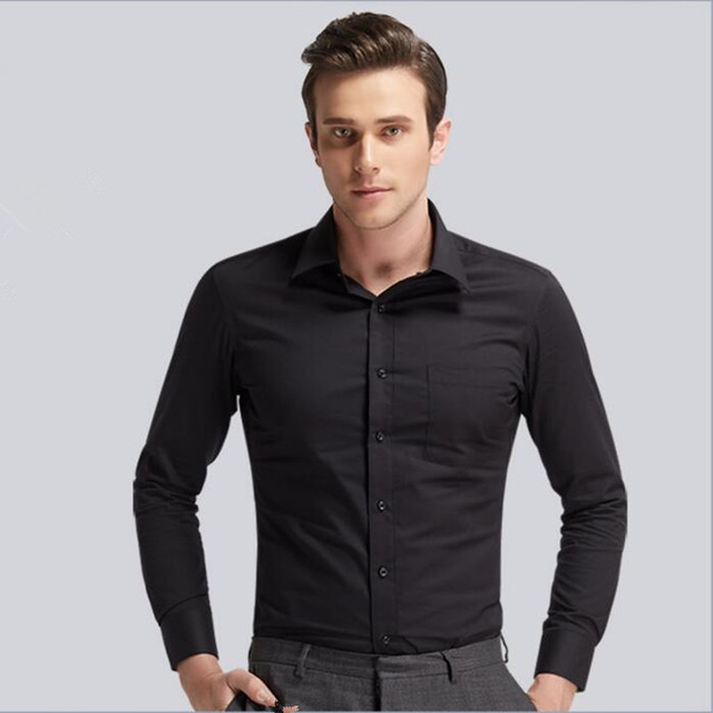 Men shirt tailor made formal occasion shirt fashion for Cost to tailor a shirt