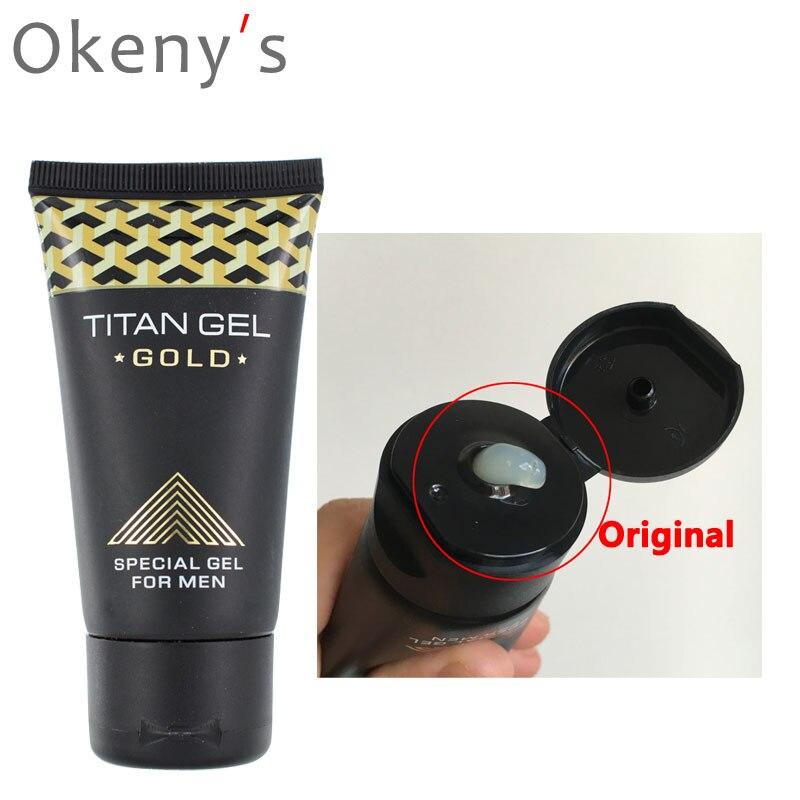 Лидер продаж, 1 шт. Titan Gel для человека пениса крем для Дик рост толще увеличить XXL, секс Долгое время Бесплатная доставка