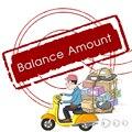 Pagamento adicional em Sua Ordem, pagar r $1 * N para O Seu Custo de Diffirent, Quantidade de equilíbrio, a Taxa do Transporte de garantia