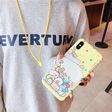 Sumikko Gurashi Phone Case for iphone XS Max X XR XS 6 6s 7 8 plus