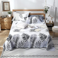 2019 New Product 1 piece 100% cotton printed large oversized flat sheets(China)