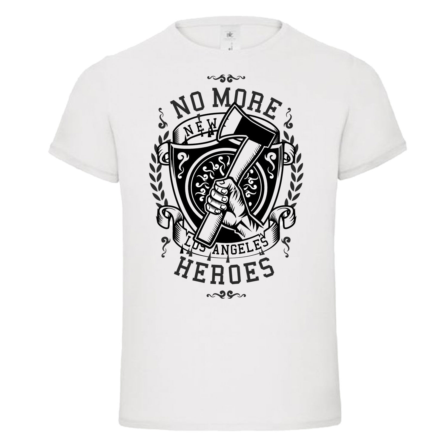 New T Shirts Funny Tops Tee New Unisex Funny TopsNO MORE HEROES fire fighte new york la ny mashup dtg mens t shirt tees in T Shirts from Men 39 s Clothing