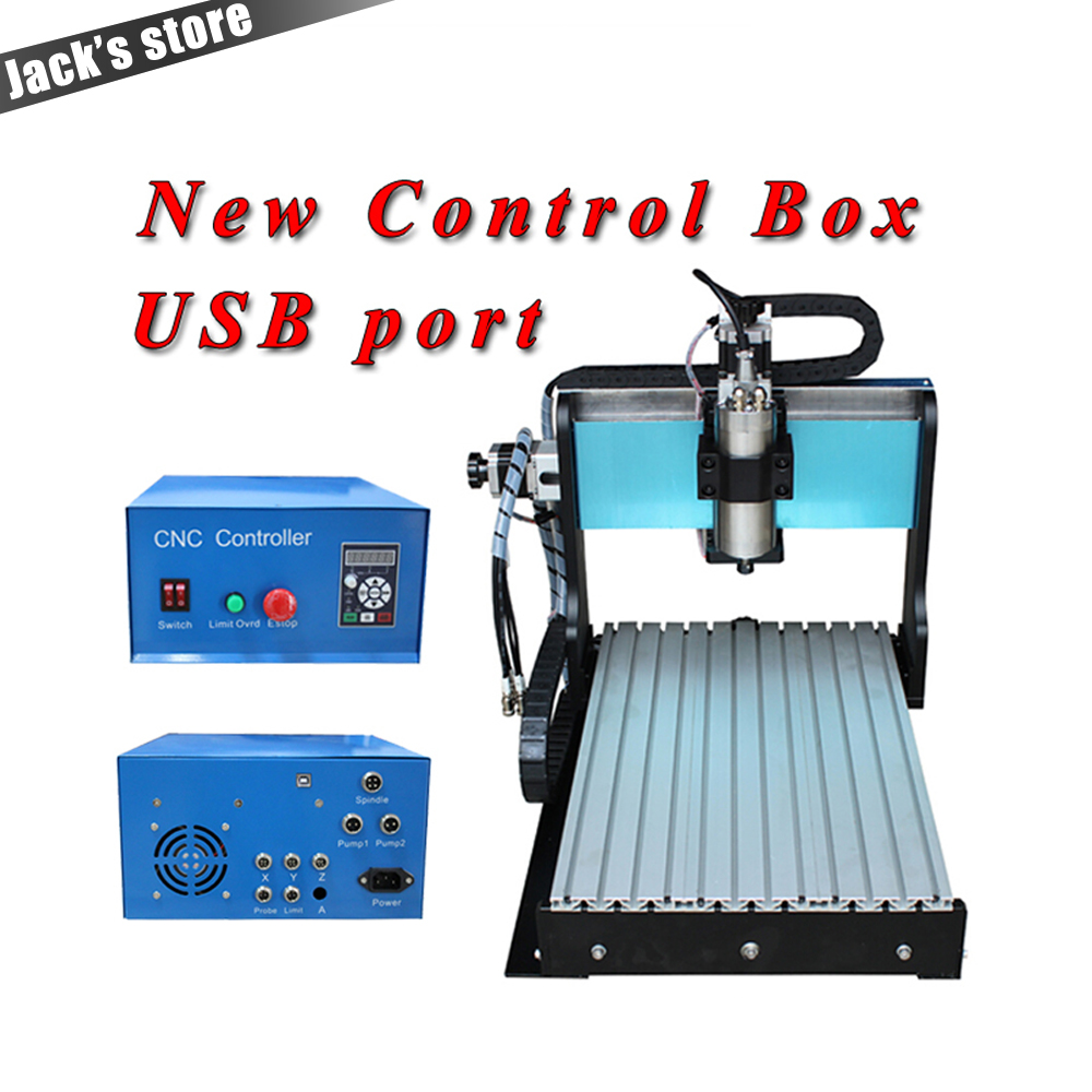 USB port !!! 3040Z-S++ ,CNC3040 800W Spindle +1.5kw VFD CNC Router water-cooling Metal engraving machiney cnc machine CNC 3040 1pc 4axis cnc router 6040z usb mach3 auto engraving machine with 1 5kw vfd spindle and usb port for hard metal