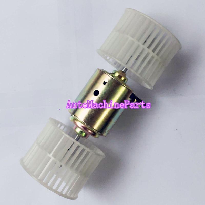 Blower Motor Y-SSMZ113-12 502725-1730 Fit For Hitachi Excavator ZAX70 ZAX60 blower motor 24v fits for excavator e320 e320b 320c 300 330