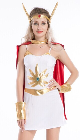 Free Shipping Ladies She-Ra Costume Deluxe 80u0027s Superhero Shera Fancy Dress halloween costume party  sc 1 st  AliExpress.com & Free Shipping Ladies She Ra Costume Deluxe 80u0027s Superhero Shera ...