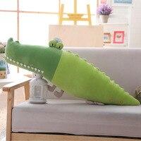 Crocodile Boy Big Plush Toy Lazy Sleeper Pillow Cartoon Lovely Pillow Doll Birthday Girl