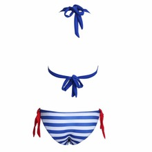 Sexy Women Bikini Ladies Push-up Strappy Backless Low Waist Bikini Set Girls Cutest Swimsuit Swimwear Swimsuit Biquini