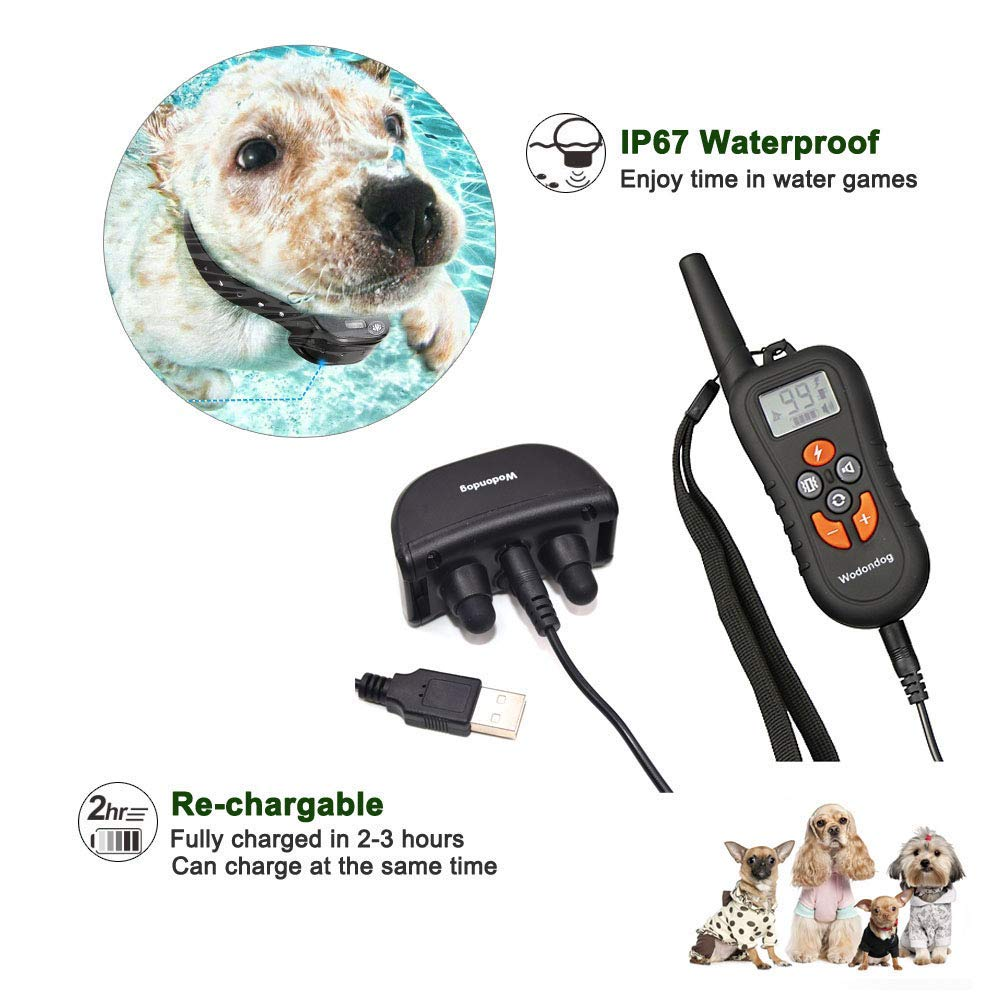 Wodondog-Dog-Training-Collar-Electric-Shock-Collar-For-Dogs-Waterproof-Remote-Rechargeable-Bark-With-Behavior-Training (1)