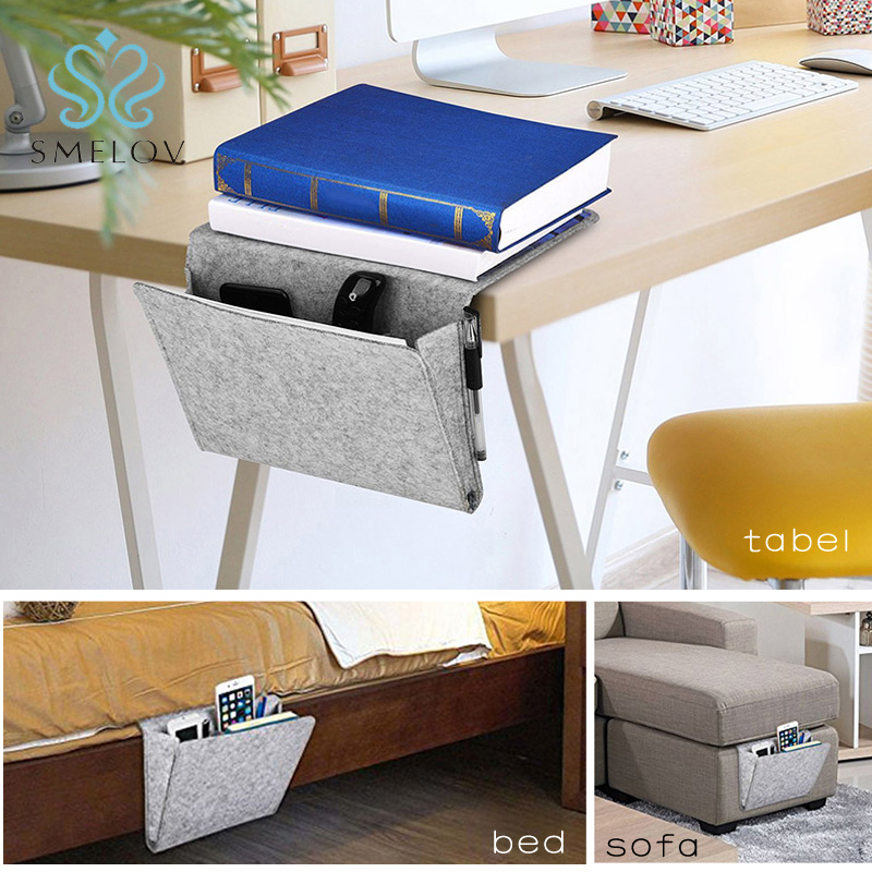 Bedside Pockets Storage Holder Book Bed Organizer Remote Couch Caddy Hanging Bag Home & Garden Household Supplies & Cleaning