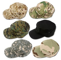New Military Hats Many Colors Kepi Outdoor Camouflage Caps 8 Color Free Shipping