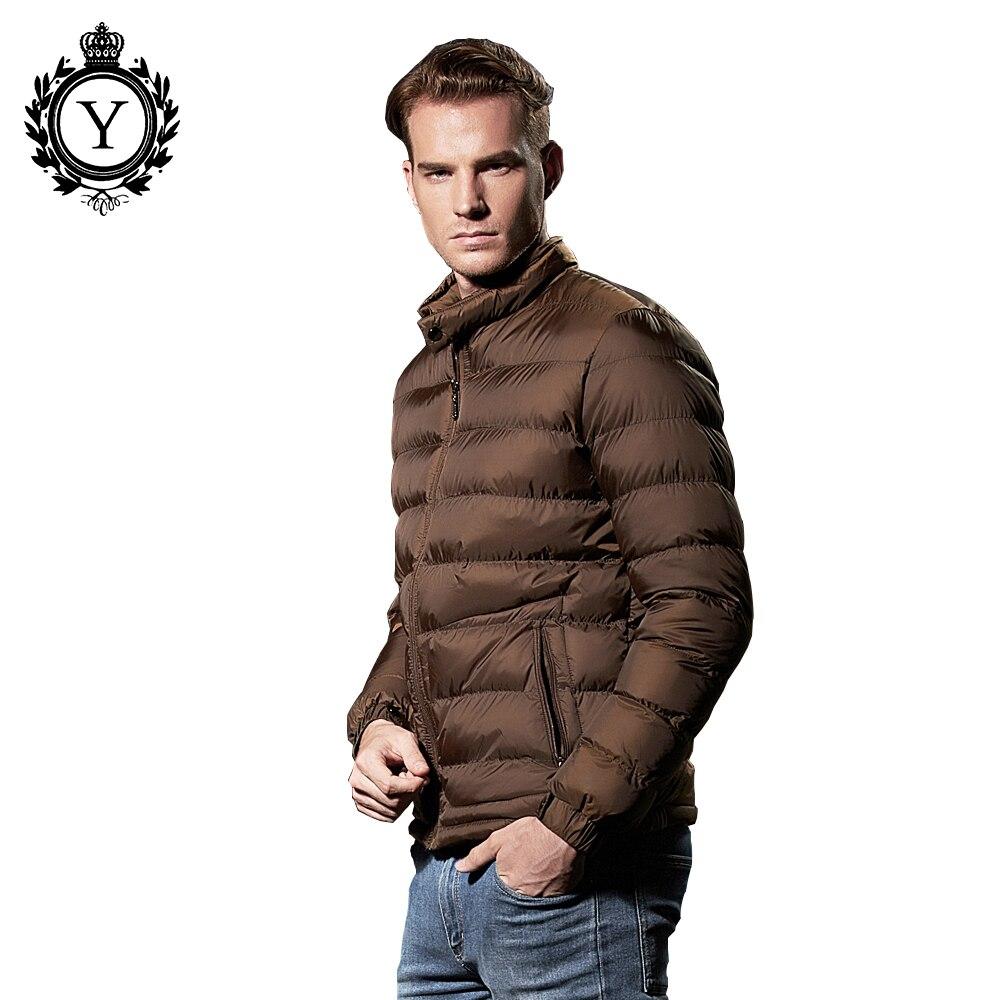 COUTUDI 2017 Winter Jacket Men Fashion Ultralight Down Jackets ...