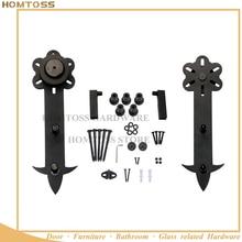 HT-B013 оборудование для раздвижных дверей из углеродистой стали нормального размера