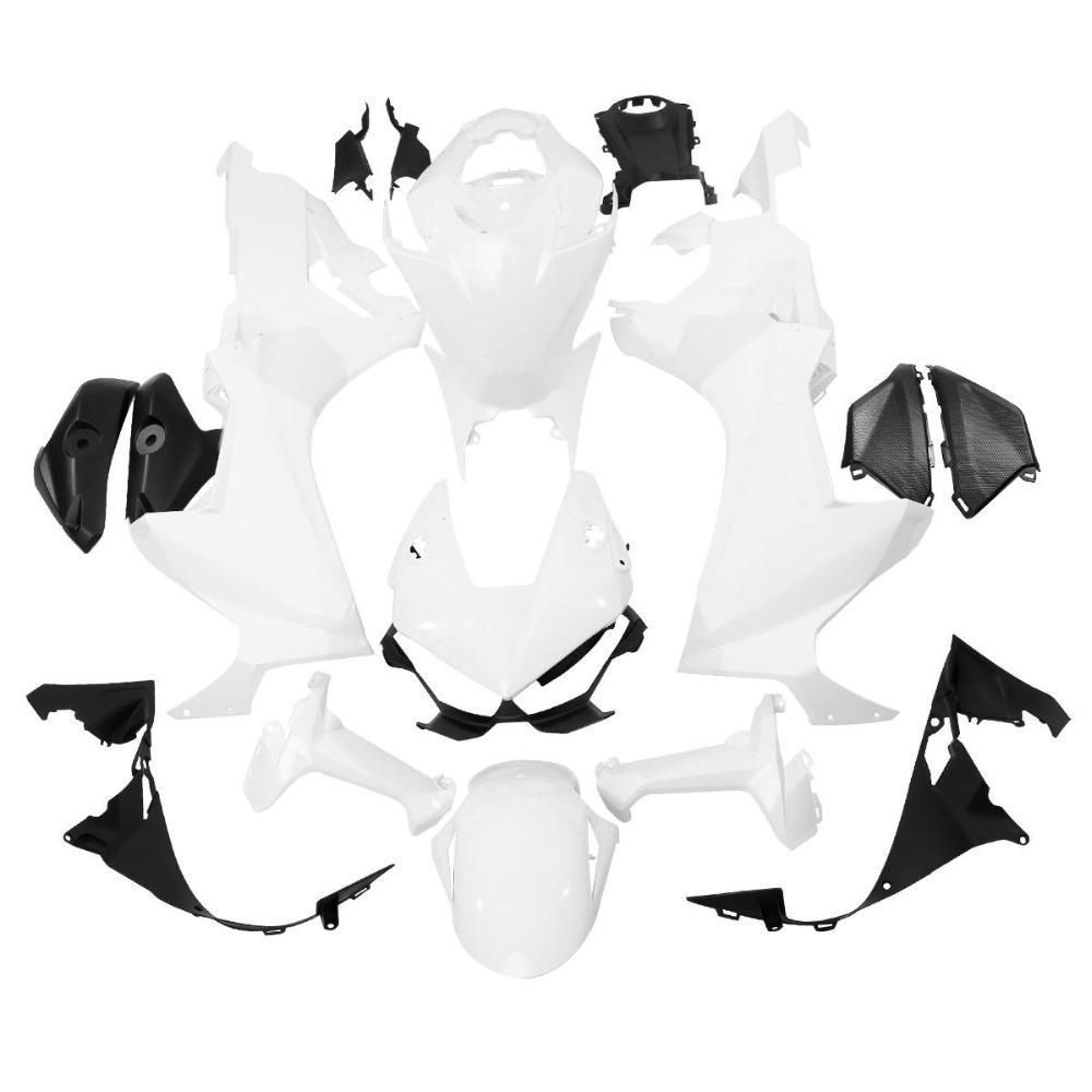 Motorcycle Injection Fairing Bodyworks Kit For Honda <font><b>CBR</b></font> <font><b>1000</b></font> <font><b>RR</b></font> <font><b>2017</b></font> 2018 Unpainted White image