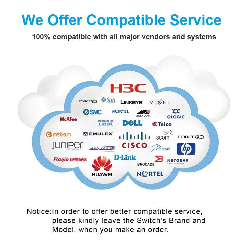 QSFP + Alıcı-Verici, 40 Gb QSFP Fiber Optik Modül 10KM - İletişim Ekipmanları - Fotoğraf 6