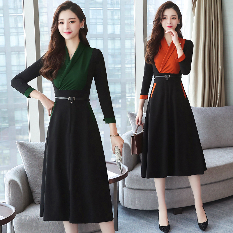 Korean dresses size long plus bodycon young adult white