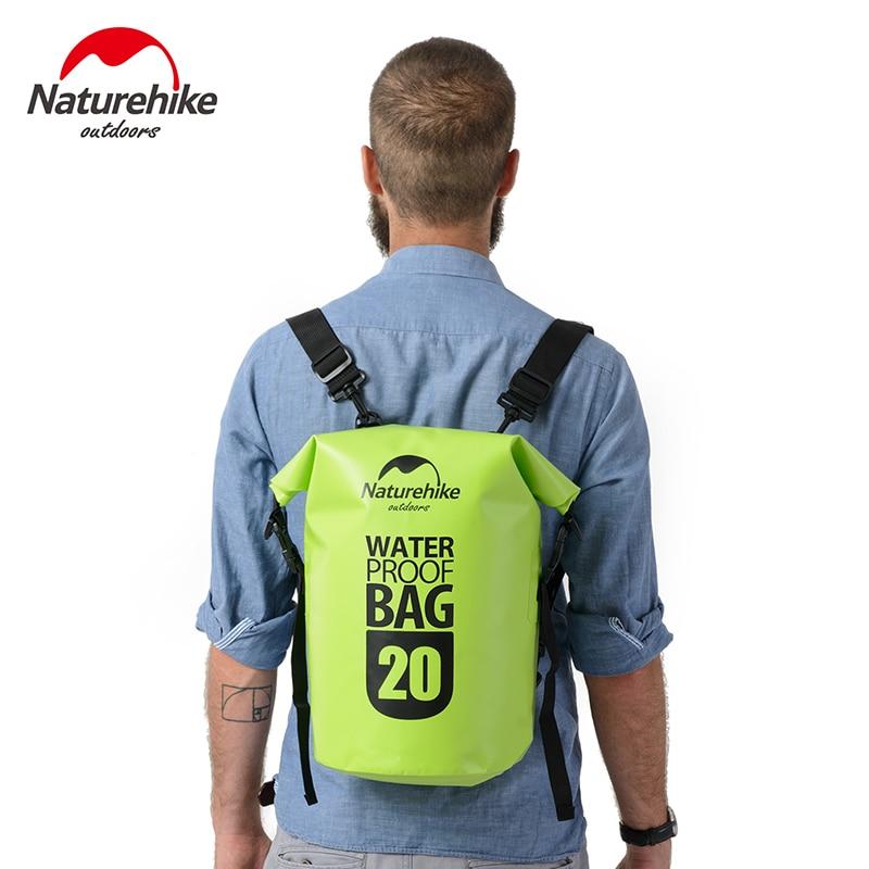 Naturehike Waterproof Dry Bag 20L 30L Backpack Beach Sport Swimming Storage Bag Men Women's Hiking Tourism Outdoor Backpacks mcintosh tourism – principles practices philosophies 5ed