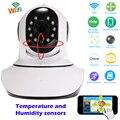 Ip-камеры Wifi Беспроводной HD 720 P Ночного Видения CCTV Камеры Безопасности Радионяня Pan/Tilt ИК Ночного Видения Поддержка 128 Г SD Карты