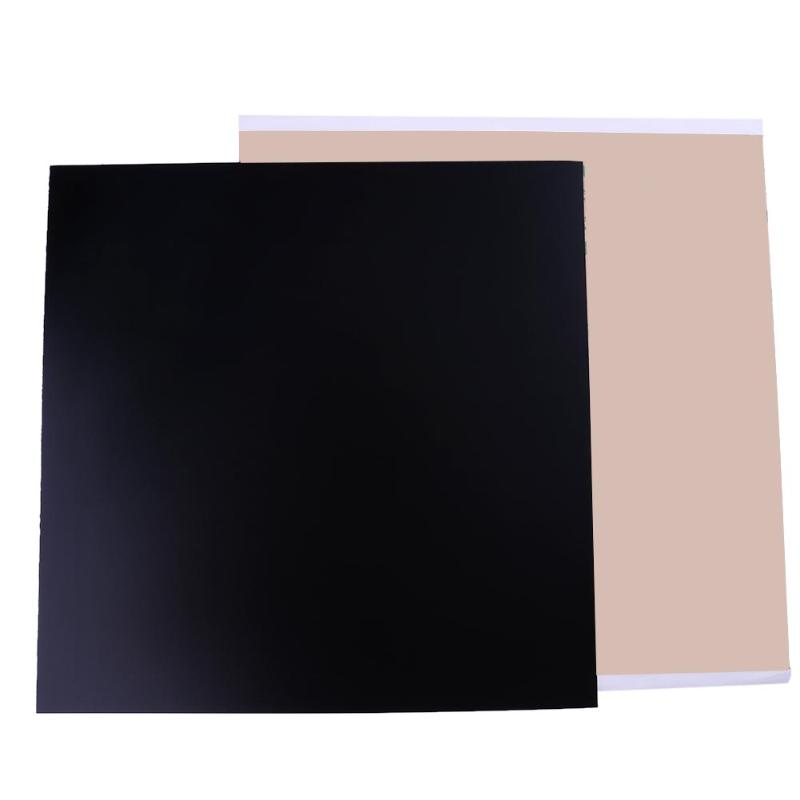 300*300*1.0mm Black PEI Sheet Polyetherimide Build Surface for 3D Printing with 468MP Adhesive Tape for 3D Printer Accessories