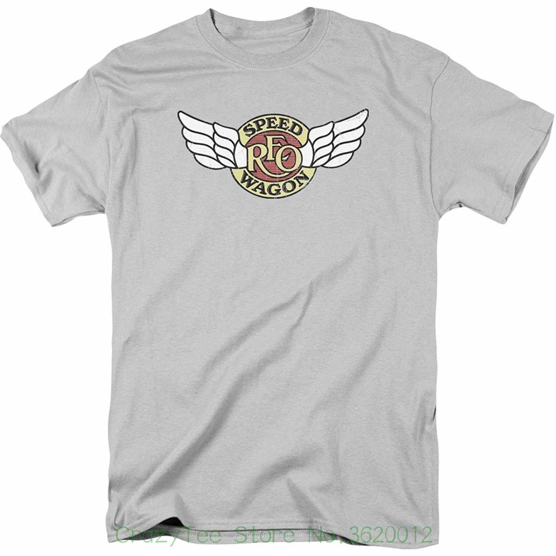 748eb5502 Newest 2018 Fashion Stranger Things T Shirt Men Reo Speedwagon Men's Winged  Logo T-shirt