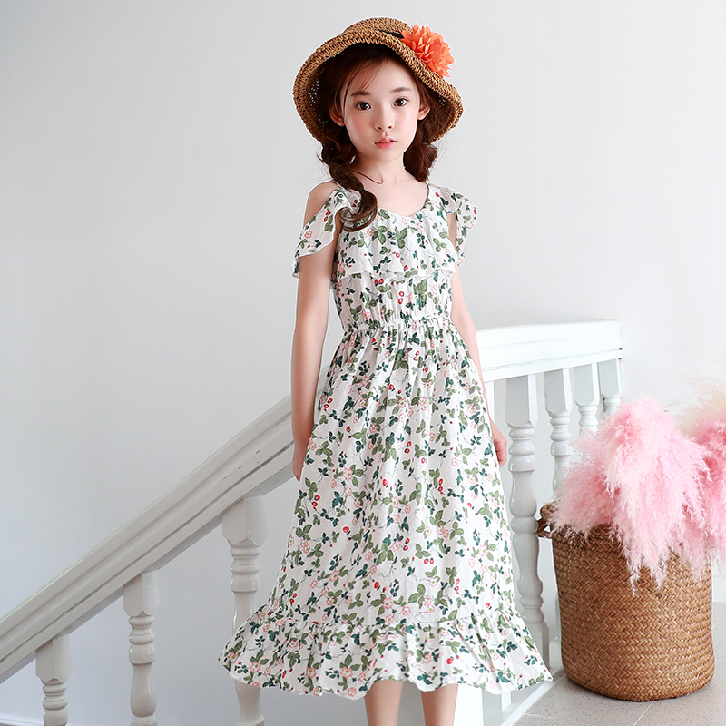 16979f4af Dresses for teens Girls Clothes Cotton Baby Child Frock Designs ...