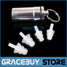 Drummer HearSafe Ear Plugs Noise Reduction Musician Hearing Protection Earplug with Case For Concert Percussion DJ Clubbing New
