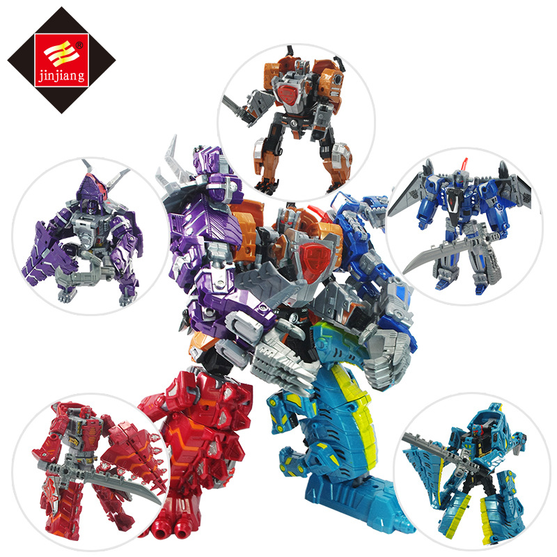 Deformed Toy King Kong Robot Dinosaur Fighter Transformation Robot Toy Action Figures for child