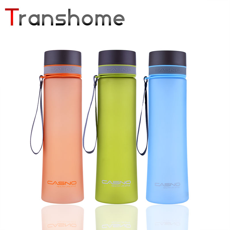 Transhome 1000 ML Libre de BPA Botellas de Agua de Los Deportes Botella de Agua