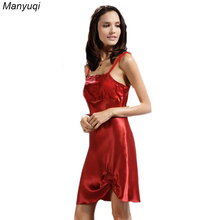 100% pure silk women's slik nightgown chest and bottom embroidery sexy nightgowns stain luxurious women home dressing gowns