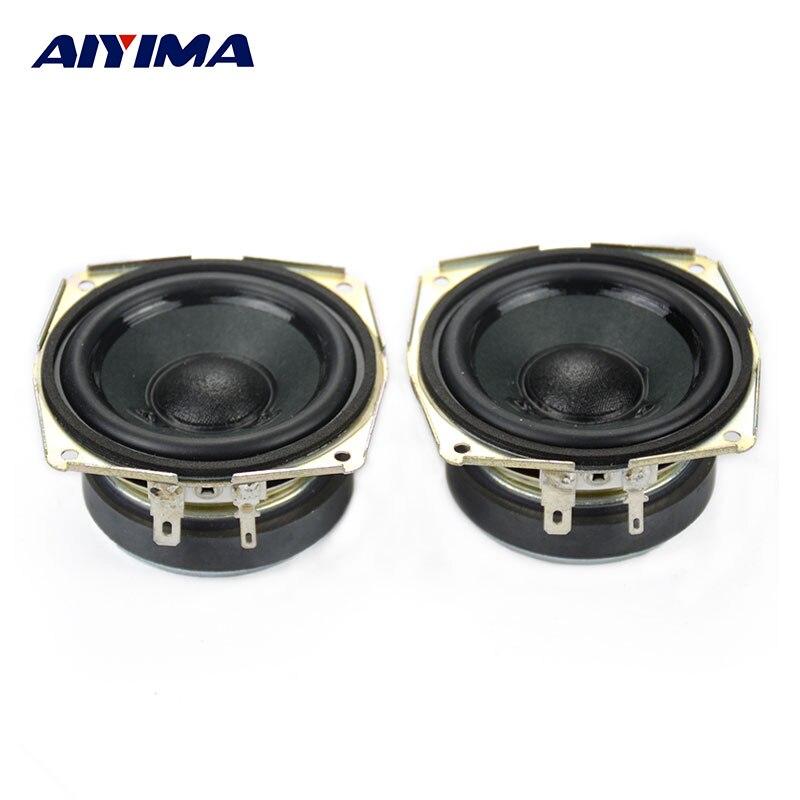 Full Range Speaker : Aiyima pcs inch full range speaker ohm w tweeter