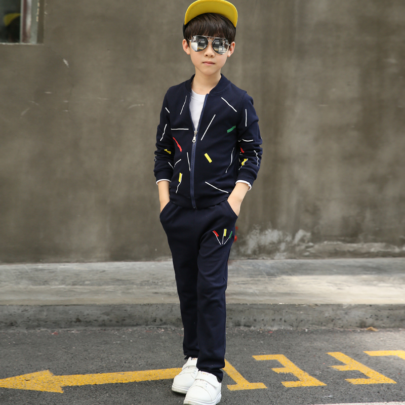 Children's clothing boy Tracksuit for boys Children long sleeve two suit sports suit for a boy kids clothes 30# 2016 brand new boys clothing set kids sports suit children tracksuit boys long shirt pants gogging sweatshirt casual clothes
