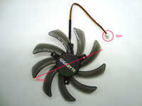 FreeShipping T129215SM Graphics / Video Card Single Fan Replacement 12V 0.25A 3Wire 3Pin Connector for Gigabyte GTX 650 660 750