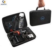 ストレージキャリングバッグ保護ポータブルケース DIY 耐震トラベル収納 Gopro 8 7 6 5 4 Dji Osmo アクションカメラ