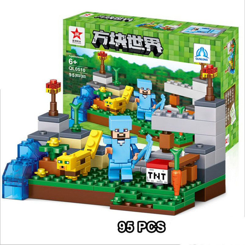 лего майнкрафт купить в китае #9