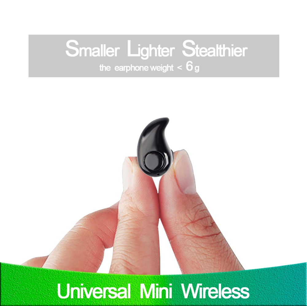 Mini S530 Bluetooth Earphone Portable Stealth In-Ear Wireless Earpiece Sports Handsfree Headset With Mic Stereo Music for phone q2 mini bluetooth headset stereo wireless earphone headphones music car driver headset stealth earbuds mic with charging socket