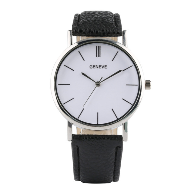 Business Men Wristwatch Luxury Brand Watches Quartz Female Male Watch Leather Unisex Minimalist Style Casual Dress Relojes mujer