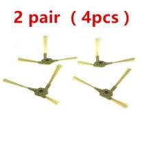 2 Paar Zijborstel Voor Lg Hom Bot VR6270LVM VR65710 VR6260LVM Vr Serie Robot Cleaners