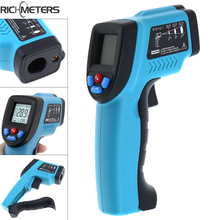 GM550 Handheld Adjustable Non-Contact IR Laser Gun Thermometer with Backlight for -50~550 Degrees Celsius/ -58~1022 Fahrenheit