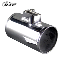 R-EP Air Flow Sensor Mount Fit For Nissan Honda Fit Civic Volkswage FORD MAF Performance Air Intake Meter Adapter Tube 2.5 3inch