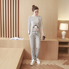 Maternity Overalls Fashion Pregnancy Overall for Pregnant Women Summer Maternity Pants Spring Pregnant Clothing 9211yg
