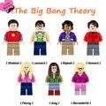 THE BIG BANG Theory TBBT Sheldon Leonard Howard Penny Amy Rajesh bloques de construcción de penny diy figuras set kids juguete de regalo diy modelos