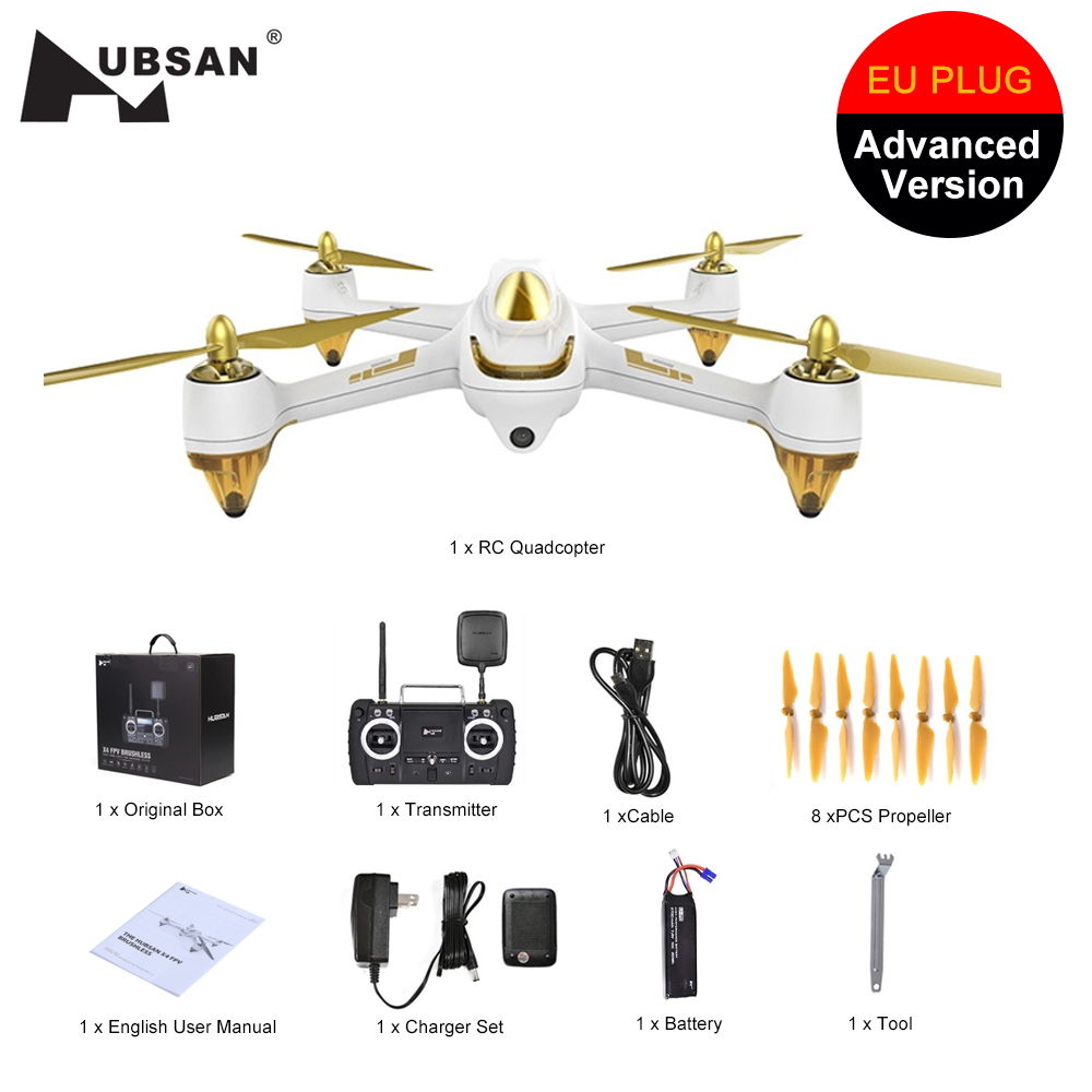 Hubsan Rc-Drone Camera Rc Quadcopter GPS Follow H501SS Brushless RTF FPV X4 Pro