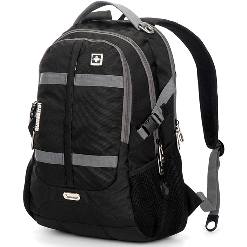 все цены на male Man's Backpacks waterproof Oxford swiss Mochila 17 Inch gear Men Laptop Backpack gear men travel laptop backpack waterproof