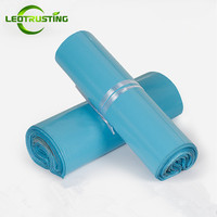 Leotrusting Light Blue Poly Mailer Adhesive Envelopes Bags Courier Gift Bags Plastic Mailing Gift Boxes Packaging Express Bags
