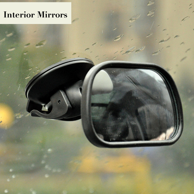 Baby Observation Car Interior Mirror Driving Assistant Rearview Safety Sucker Children Back Seat Mirrors Adjustable Monitor 1PC