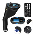 Cheap+Hot Selling+ Wireless FM Transmitter Modulator Auto Stereos Car MP3 Player USB/SD/Card Reader MMC Slot With Remote Control