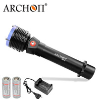 Archon D22II/W28II LED Diving Flashlight 7 Hours Work Time Scuba Diving Torch Light 26650 Battery and charger included