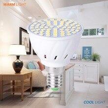 E27 220V Bulb E14 LED Light GU10 230V 2835 Lamp B22 240V Spot MR16 3W 5W 7W Energy Saving Lighting 48 60 80Leds Bombillas