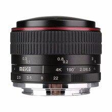 Meike 6.5mm Ultra Grande f/2.0 Fisheye Lens para Fuji mirorrless X-montar câmeras