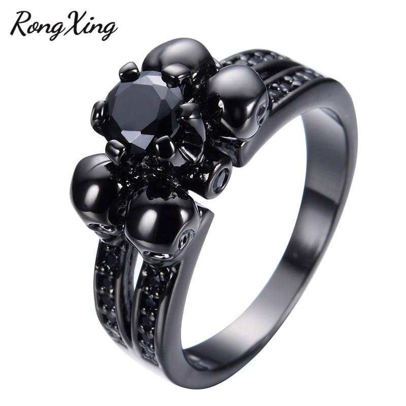 Fake Black Wedding Rings